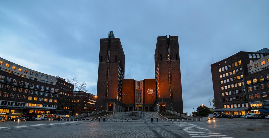Oslo City Hall - Arch Journey